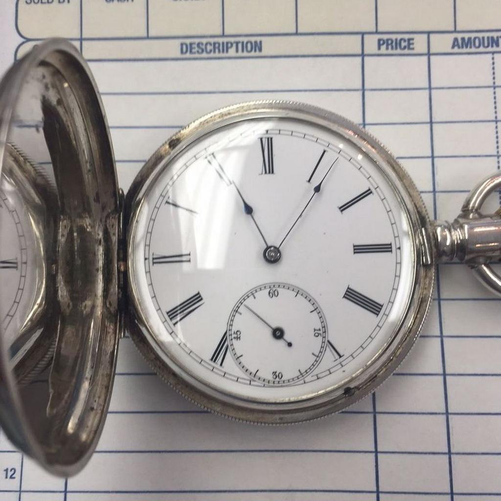Pocket watch restoration