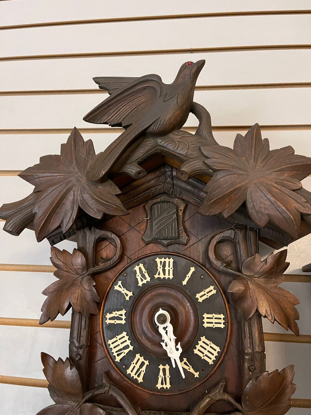 Black Forest German Wall Mounted Cuckoo Clock from the 1920s