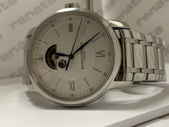Baume & Mercier Watch Repair services done in watch house by the Village Watch Center