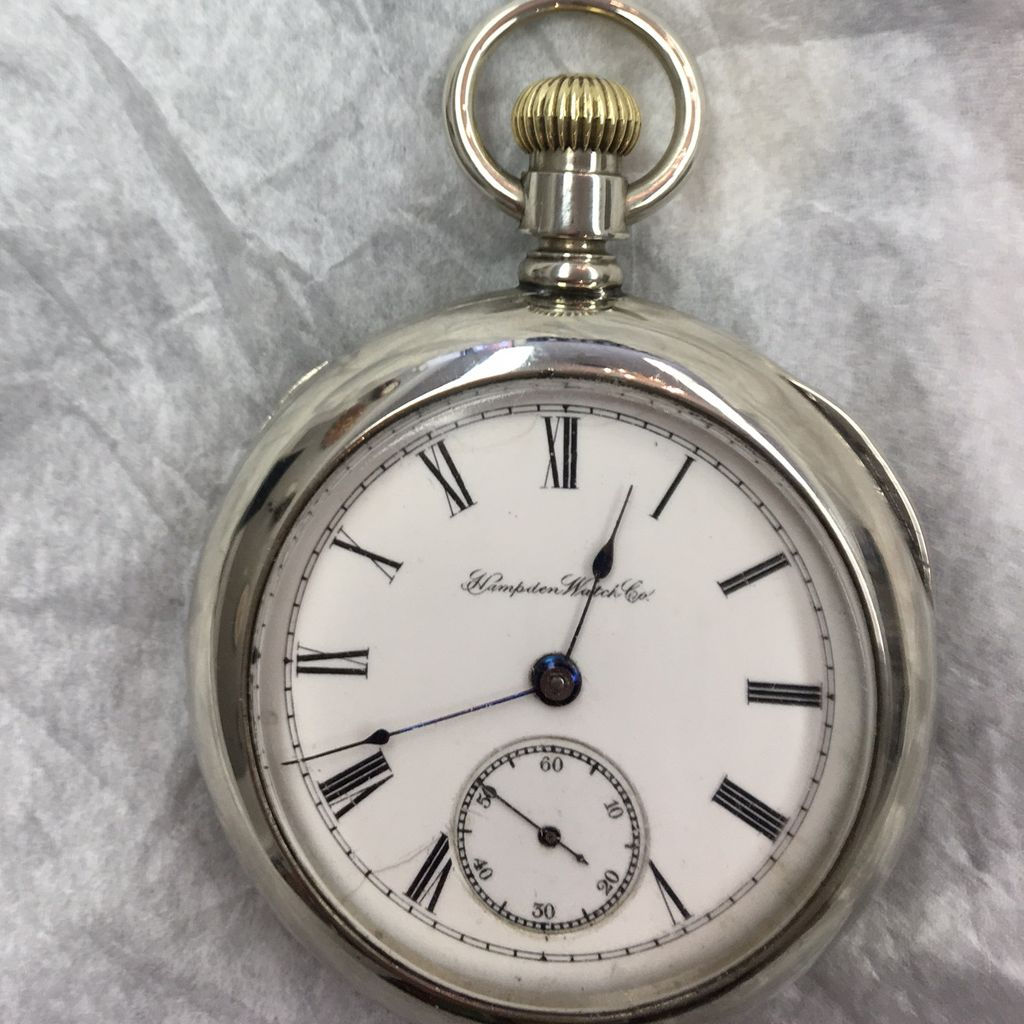 Hampden pocket watch from 1880