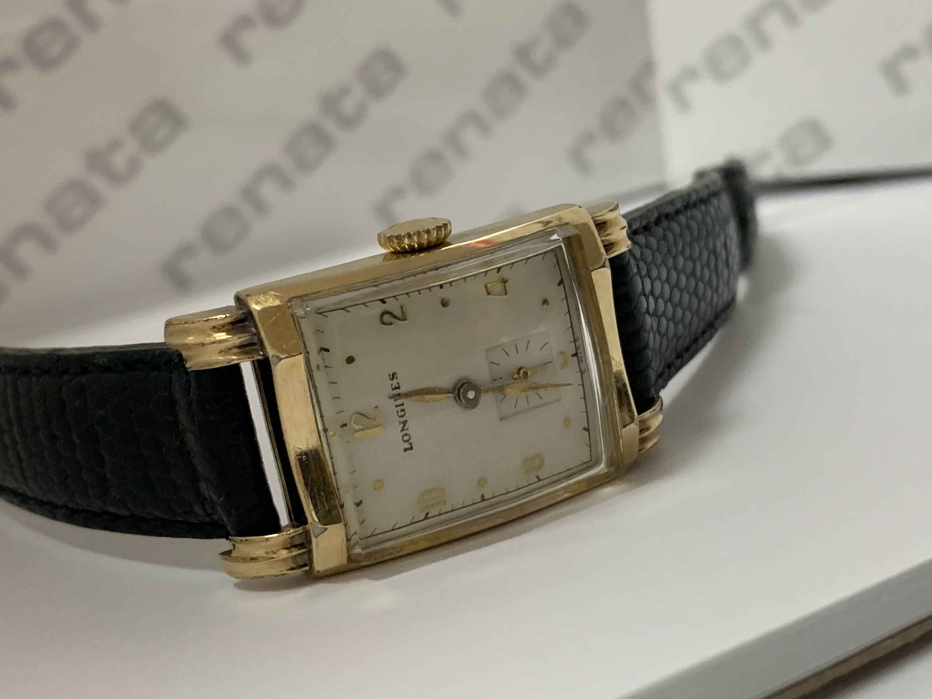 Men's 1940 Longines watch fully serviced and cleaned
