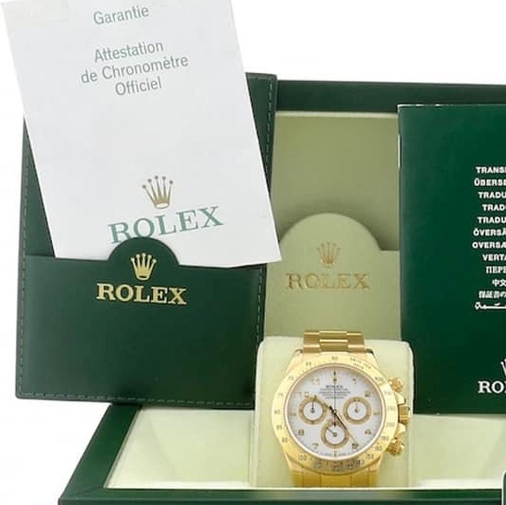 Rolex Daytona 18kt yellow gold