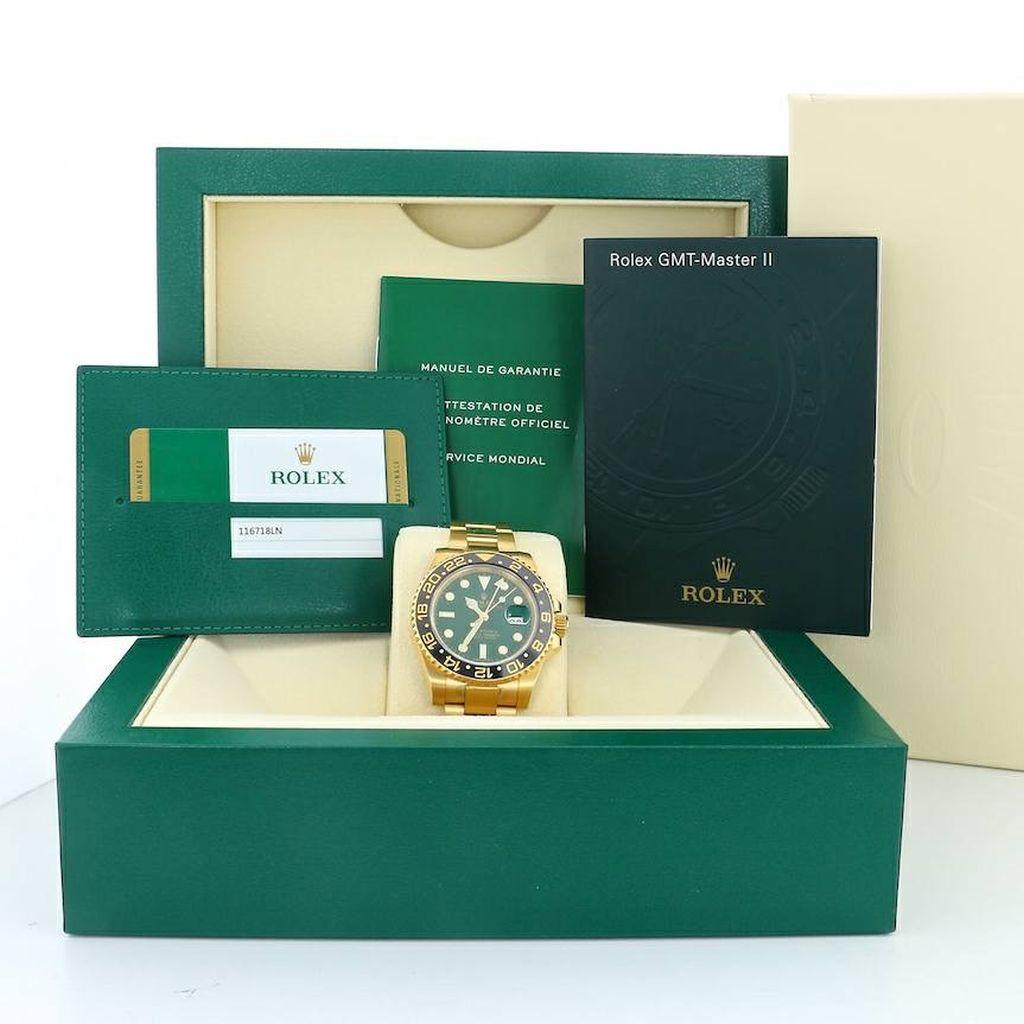 Rolex GMT-MASTER II 18kt Gold