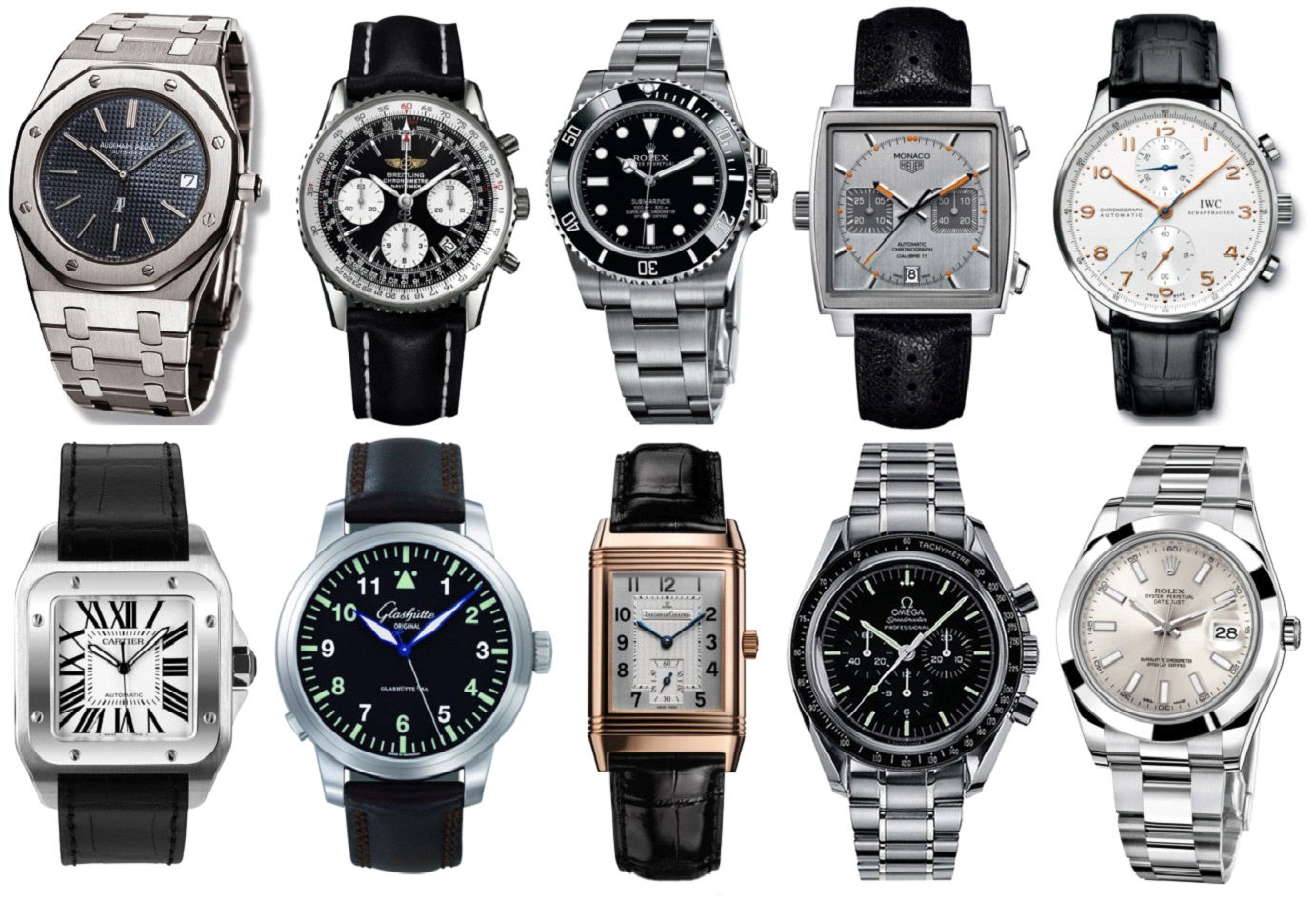 Top 10 Watches to own in your lifetime!