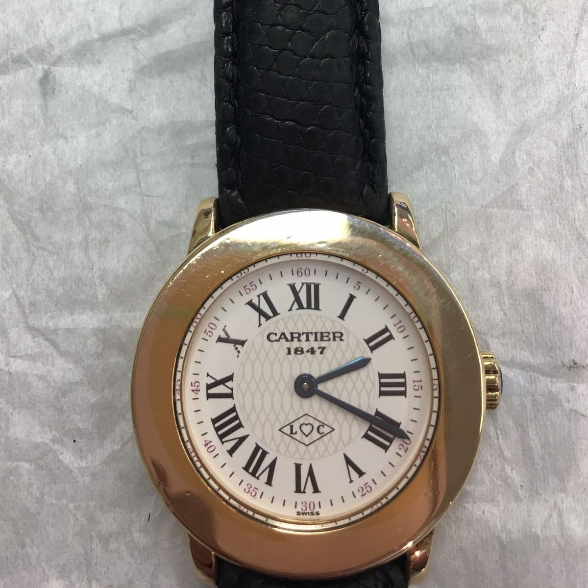 We are Cartier watch repair watchmakers and we can repair your watch!
