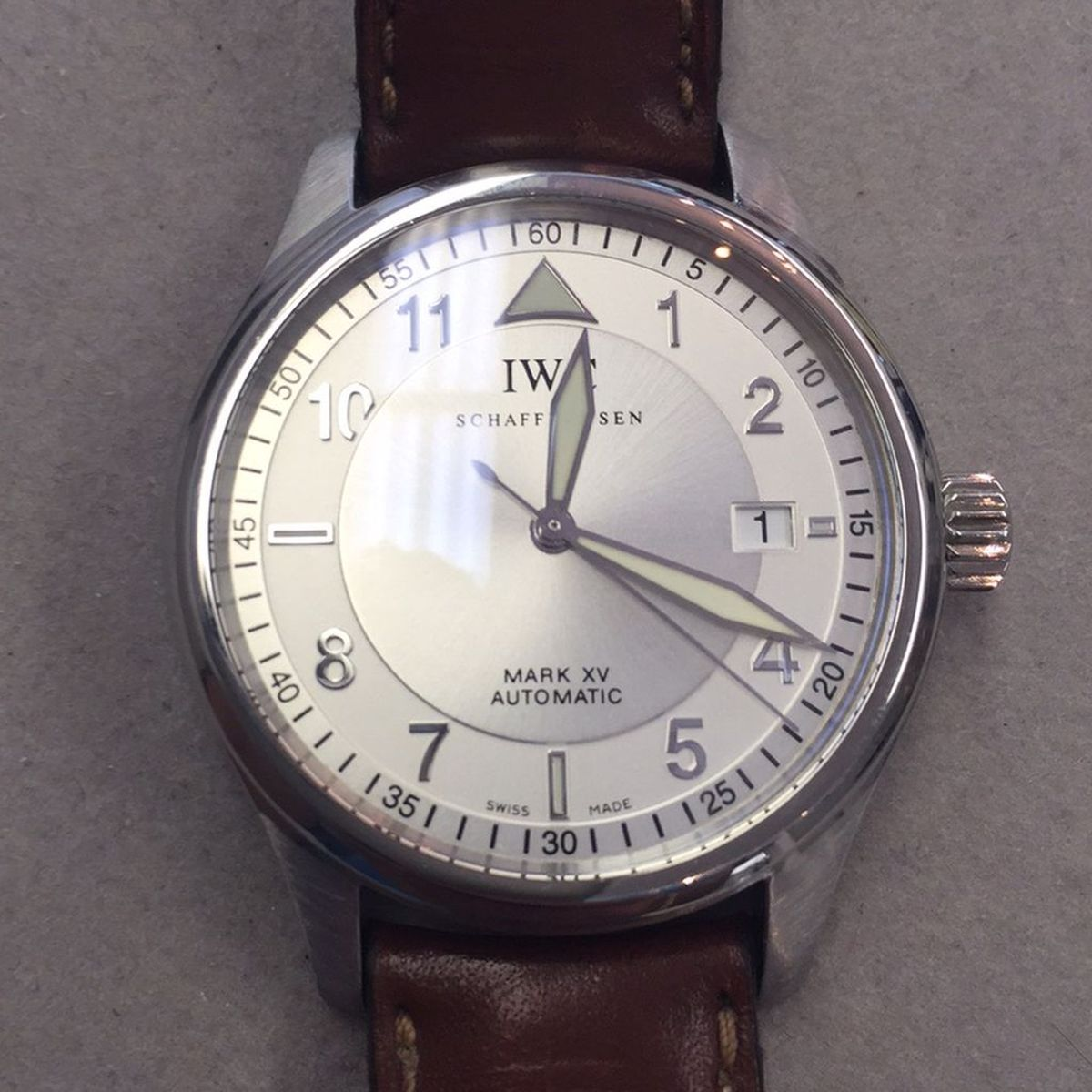 Expert IWC Repair Done Locally
