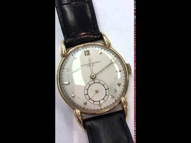 Vacheron solid gold vintage