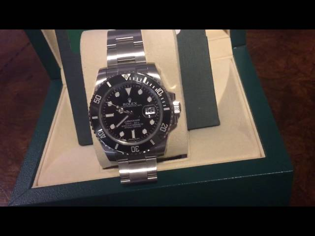 BRAND NEW 2016 Rolex Submariner *NEVER BEEN WORN*