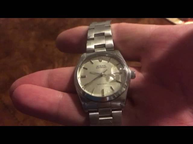 **VINTAGE** Stainless Steel Rolex Oysterdate from 1968