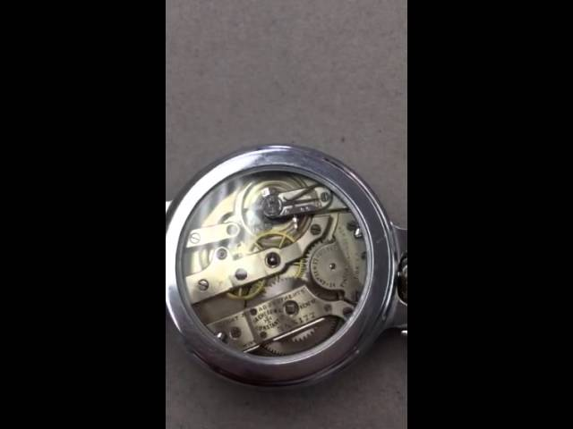 Vintage vacheron CONSTANTIN from 1920 video