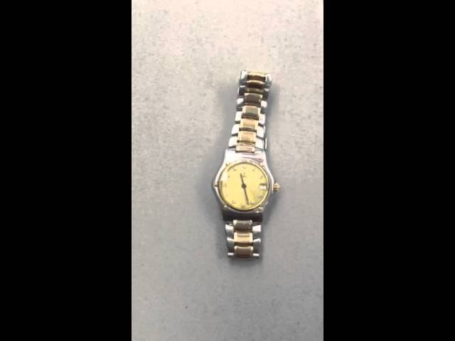Ebel Lady Watch After Repair