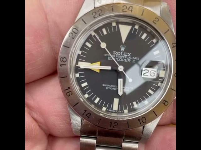 Rolex Explorer from mid 70s