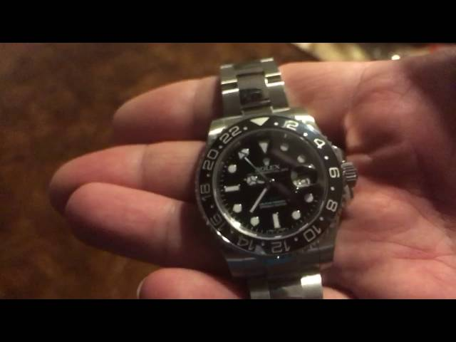 Ceramic Stainless Steel GMT Rolex -- 2014