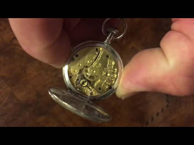 Waltham Sterling Silver Pocket Watch!