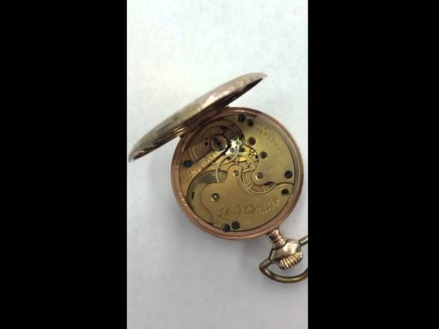 Elgin pocket watch 1930