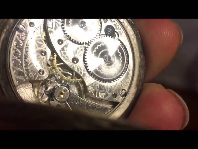**VERY RARE** Vintage Waltham Pocket Watch